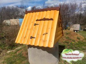Домики  для колодцев в Серпуховском районе и Серпухове